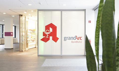 Apotheke im Haus grandarc Praxisklinik Grafental