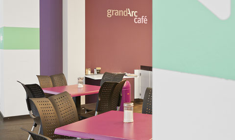 Cafeteria Grand Arc Praxisklinik Grafental